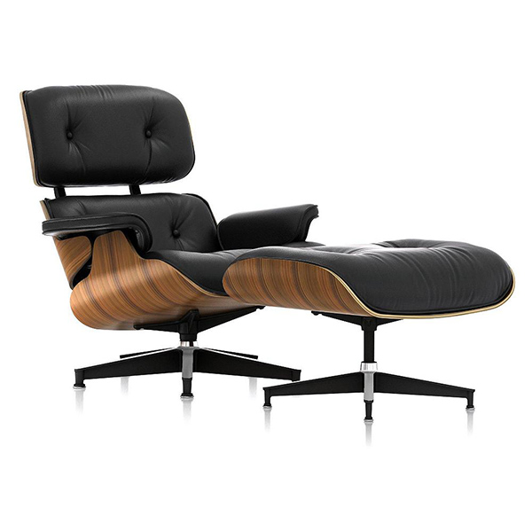 Eames® Lounge Chair with Ottoman by Herman Miller®.