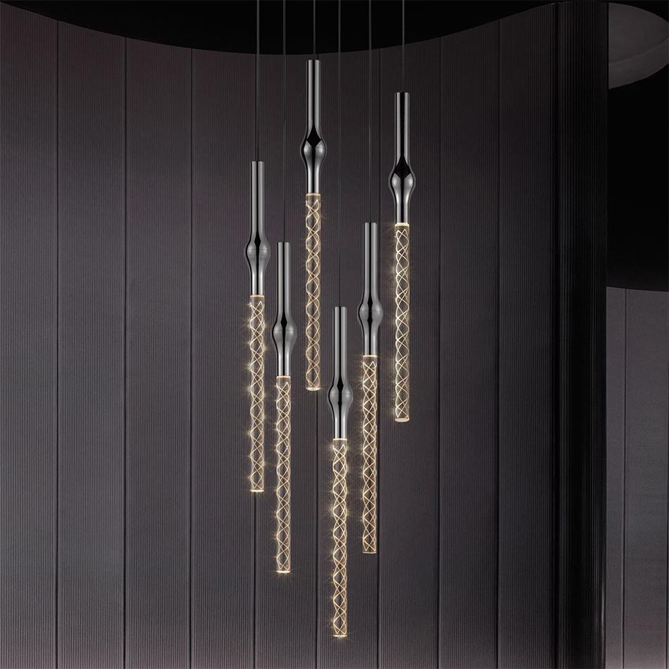 Rain Pendants by Sonneman Lighting