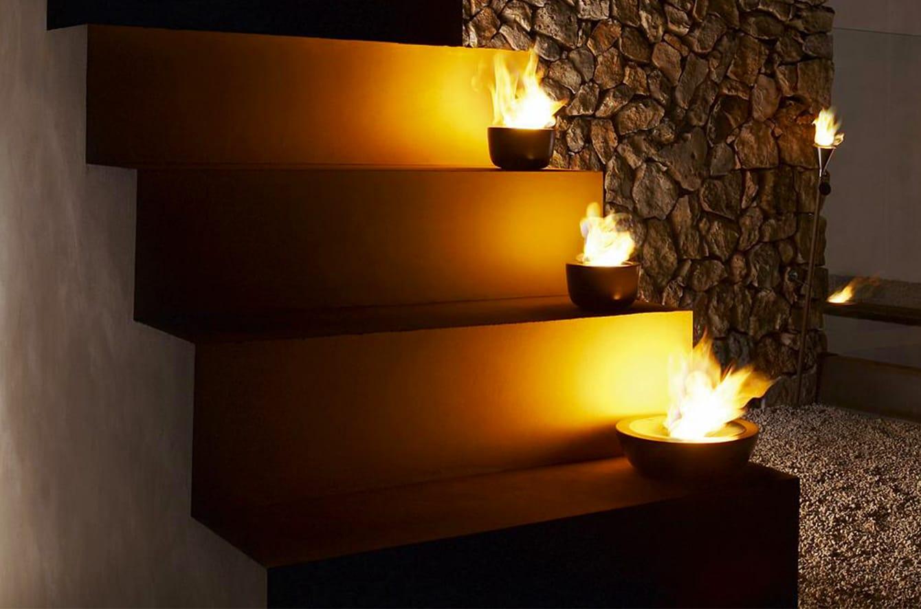 FUOCO Tabletop Gel Firepit by Blomus