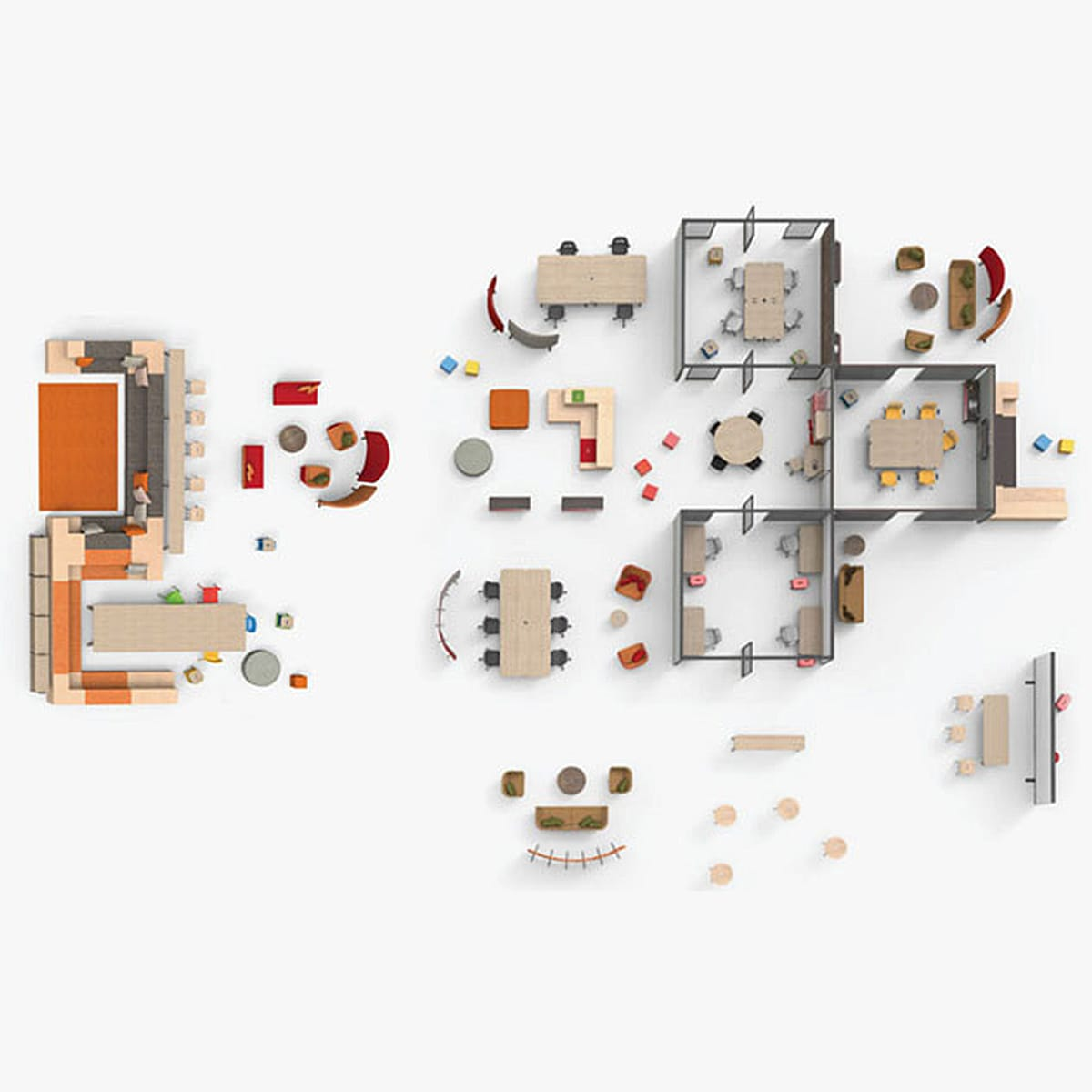 Planning with Knoll, Courtesy of Knoll, Inc.