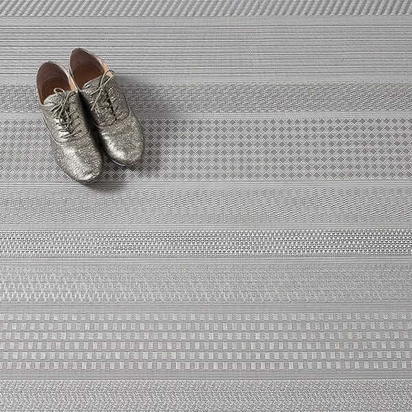 Mixed Weave Floor Mat By Sandy Chilewich for Chilewich