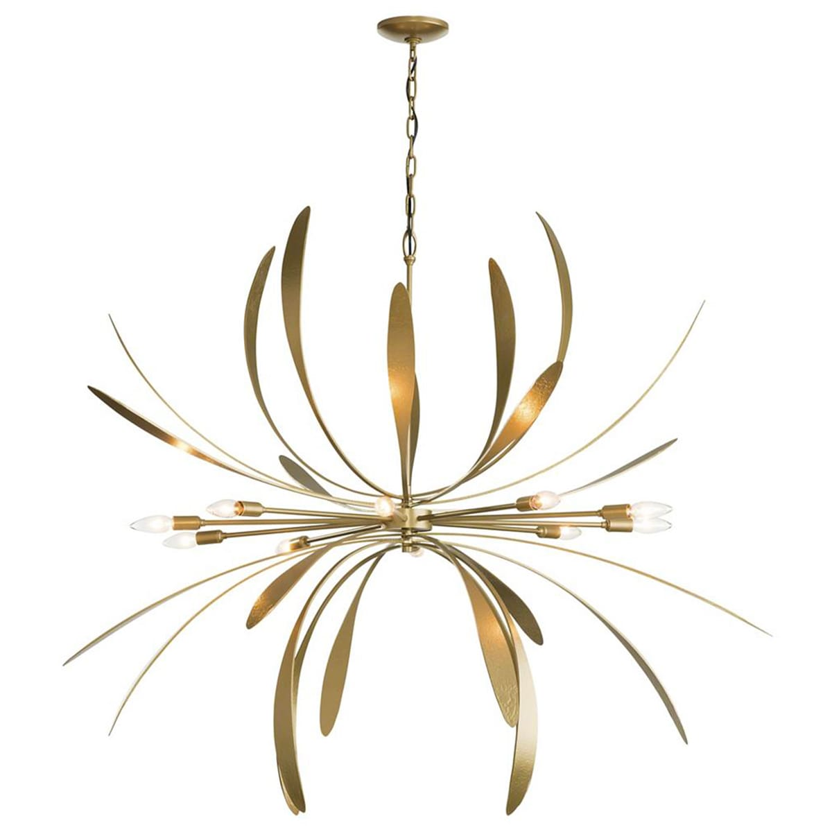 NEW & EXCLUSIVE: Dahlia Chandelier by Hubbardton Forge