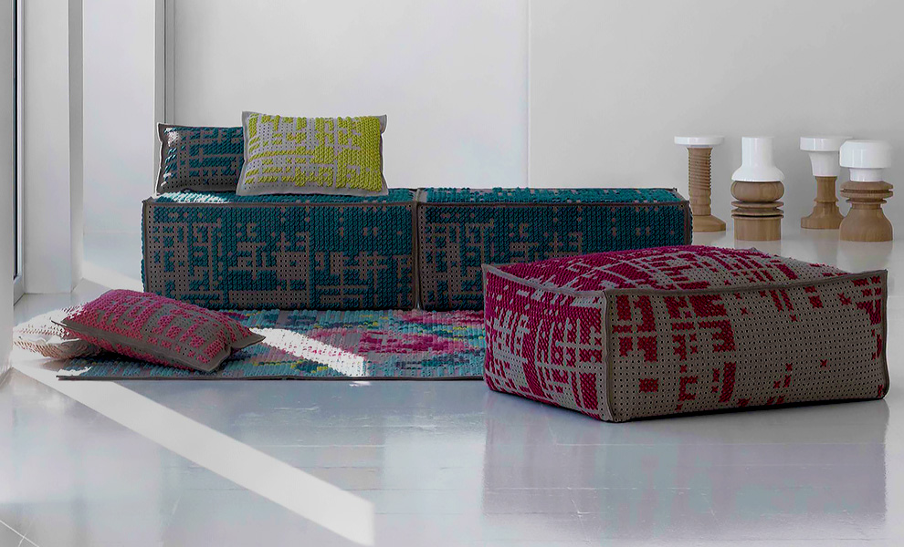 Canevas Space Collection by Charlotte Lancelot for Gan Rugs