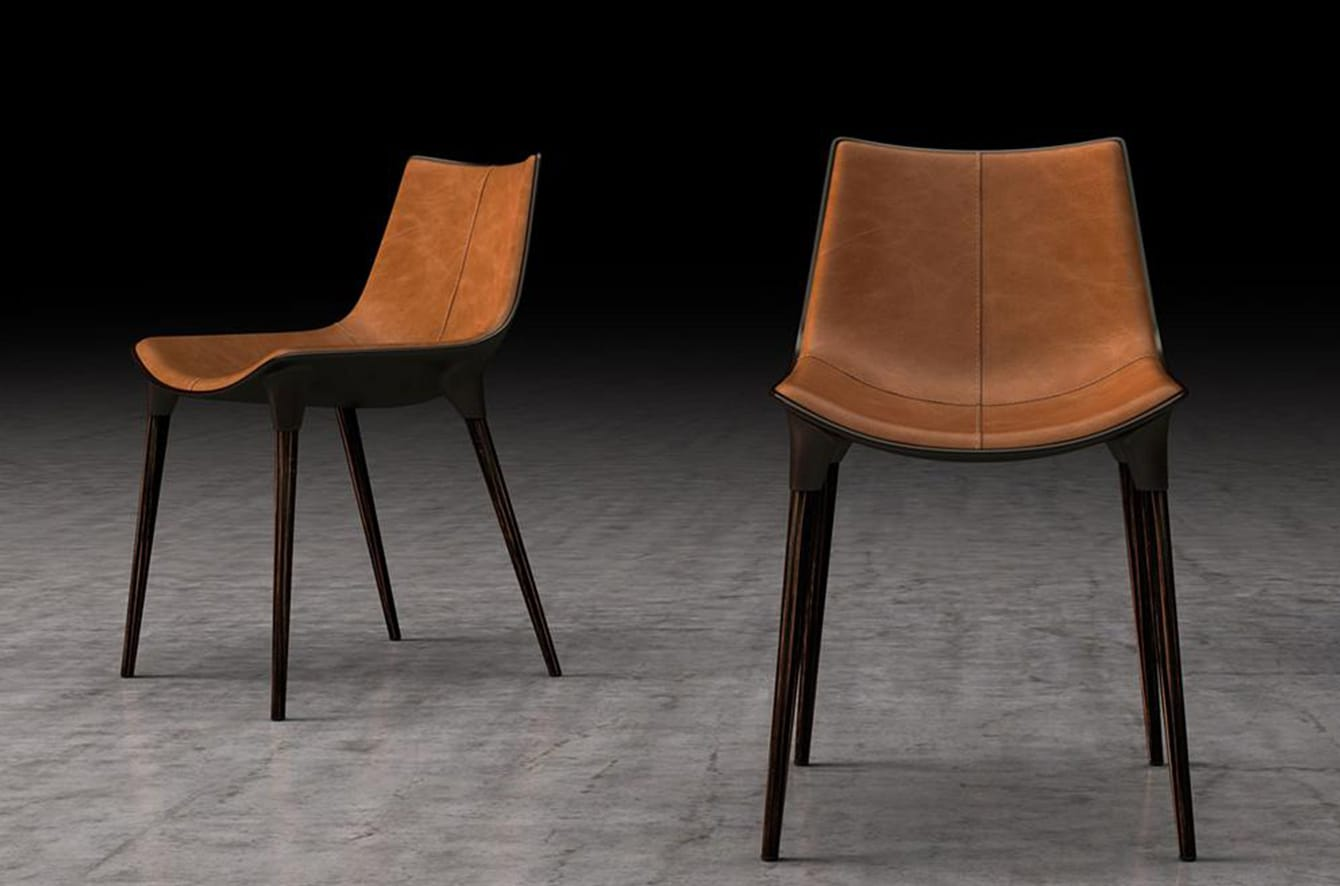 Langham Dining Chair by Marcelo Ligieri for Modloft Black