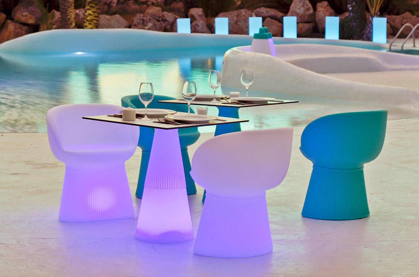 Deauville LED Chair by Artkalia