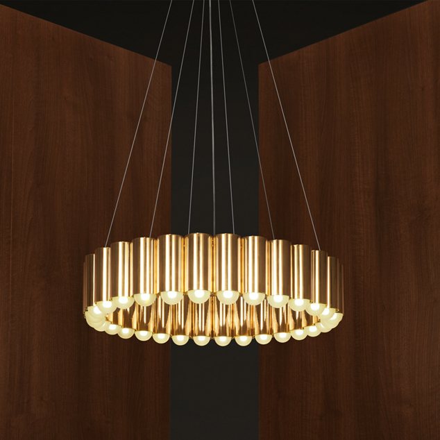 10 Chandeliers That Go for the Gold