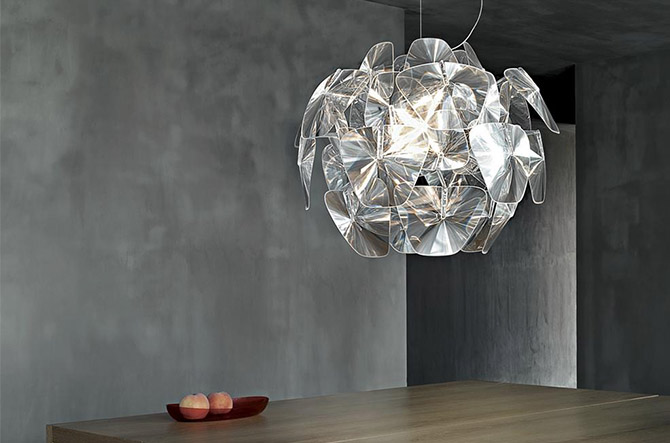 Solo Multi-Light Pendant with Discs by Intueri Light