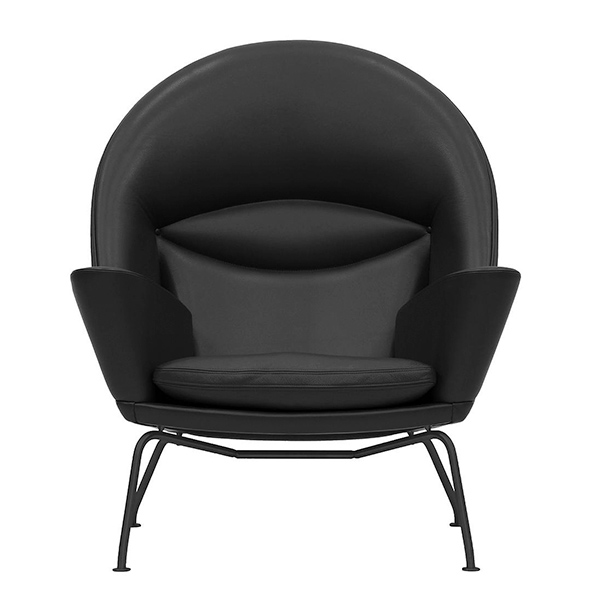 CH468 Oculus Lounge Chair Black Edition by Carl Hansen