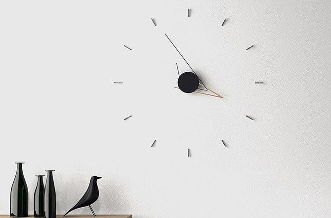 Mr./Ms. Punctual: Silo Wall Clock by Beyond Object