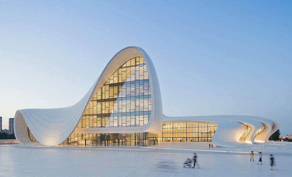 Heydar Aliyev Centre, Baku, Azerbaijan (completed 2012)