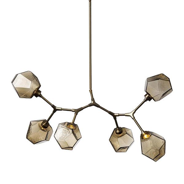 Gem Modern Branch LED Chandelier by Hammerton Studio.