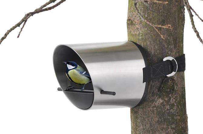 Borea Tree-Mounted Bird Feeder by Blomus