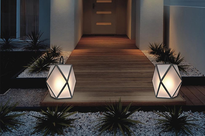 Muse LED Battery Outdoor Light by Contardi Lighting