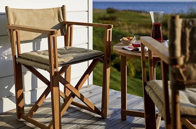 Kryss Lounge Chair by Skargaarden