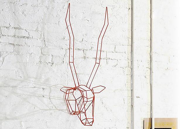 The Fun Design Hunter: Gazelle Trophy Head by Bend Goods