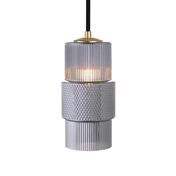 Mimo Cylinder Pendant by Oggetti Luce.