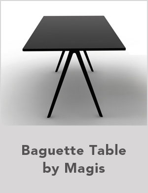 Baguette Table by Magis