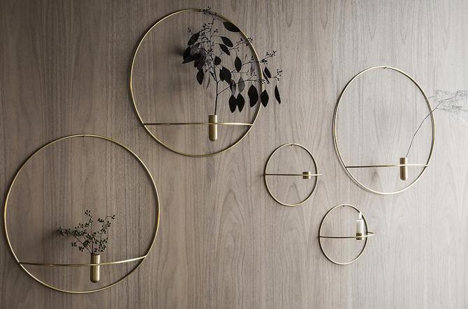 POV Circle Candleholder by Menu.