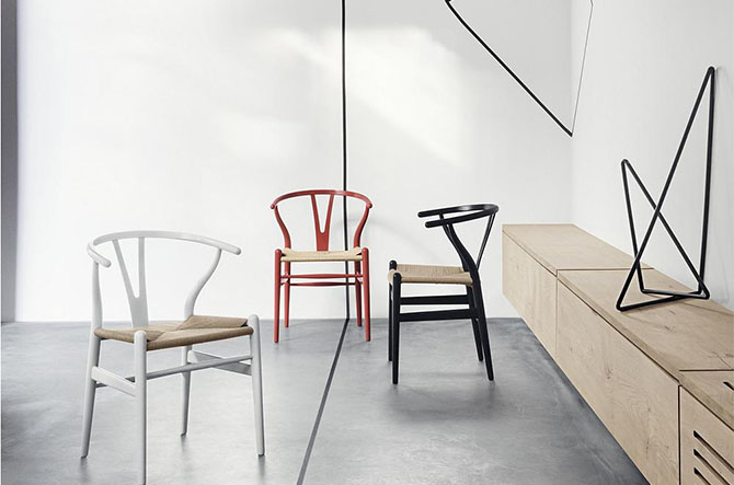 CH24 Wishbone Chair By Hans J. Wegner for Carl Hansen