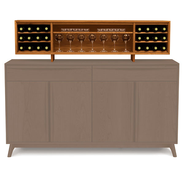 Catalina Hutch for Buffet by Copeland Furniture.
