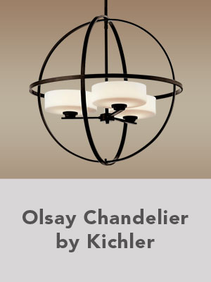 Oslay Chandelier by Kichler