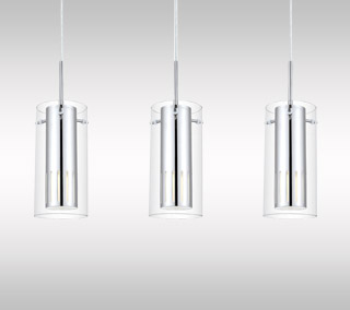 Pinto 1 Linear Suspension by Eglo