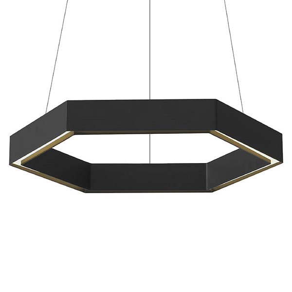 Hex LED Pendant by Resident.