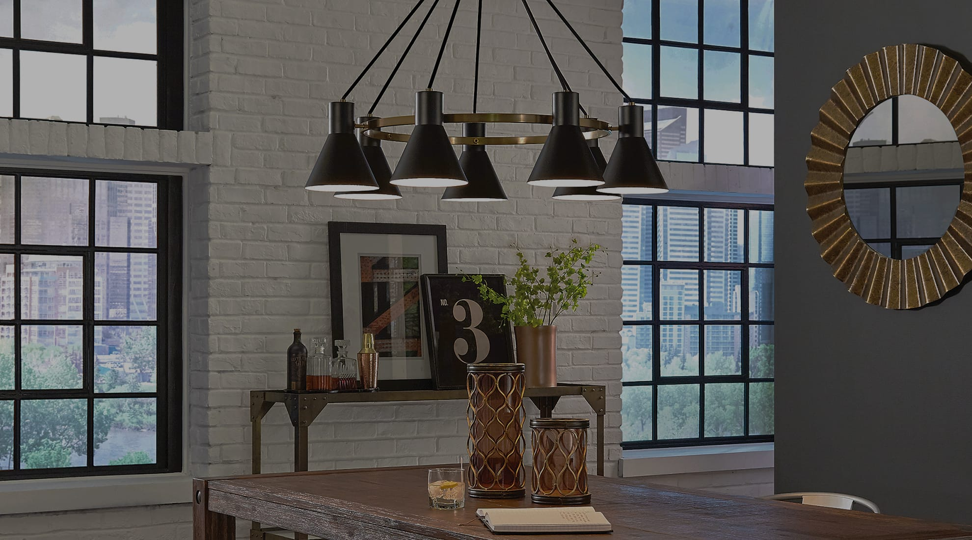 Industrial Modern Lighting