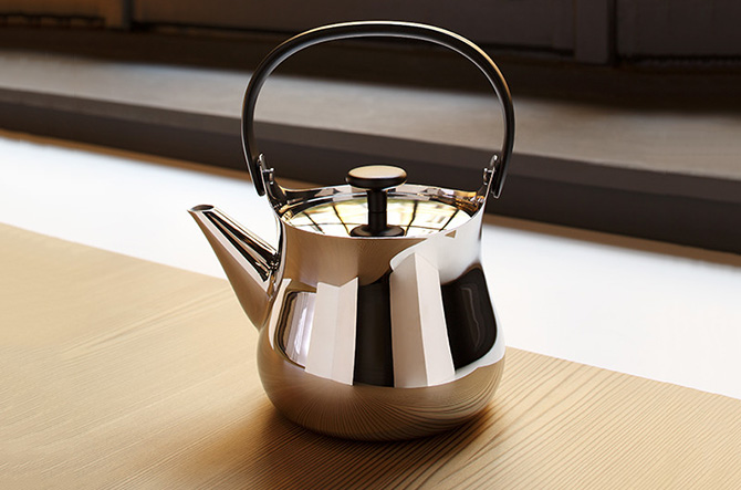Cha Tea Set by Alessi