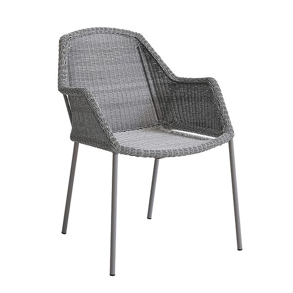 Breeze Stackable Armchair by Cane-line.