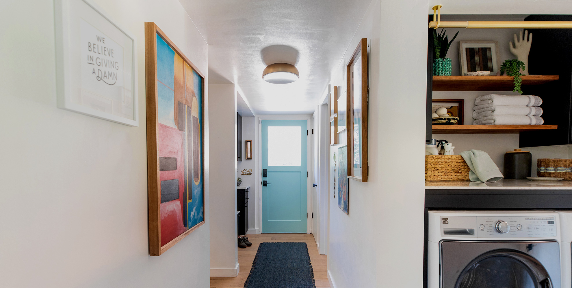 Designing an Entryway with Studio Plumb.