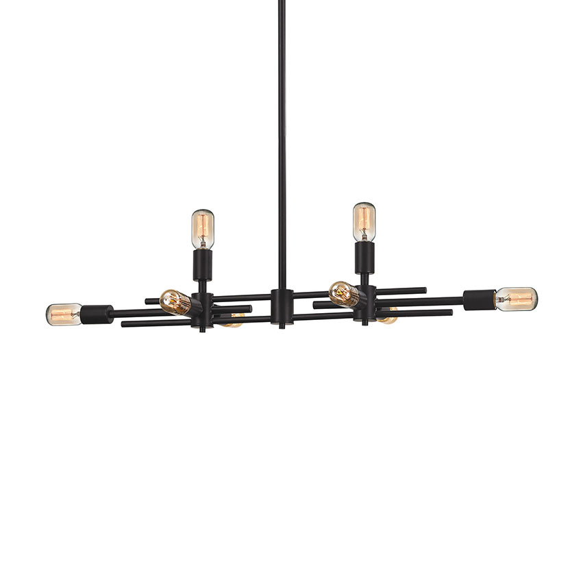 Parallax 8 Light Linear Suspension by Elk Lighting