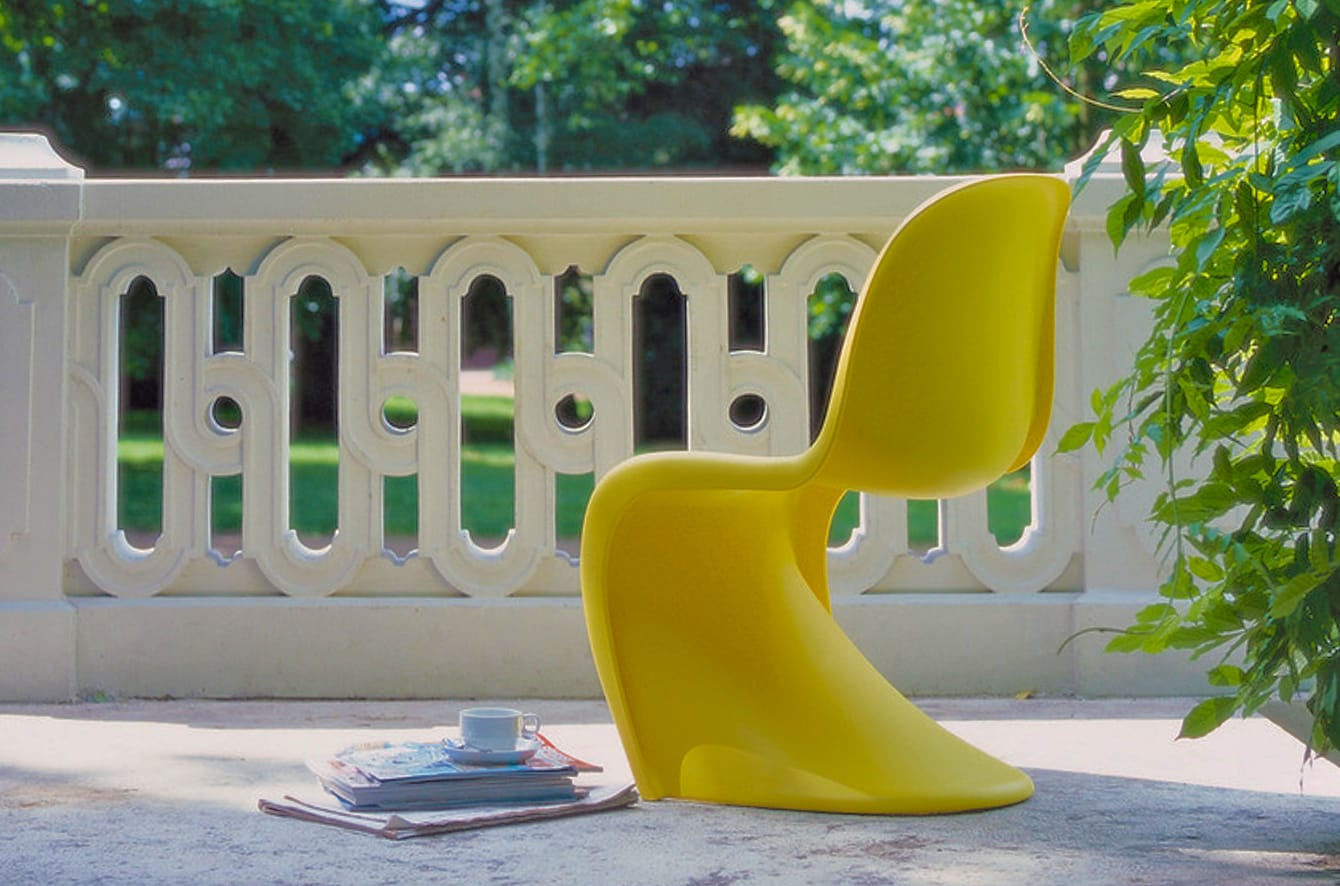 Panton Chair (1999) by Verner Panton for Vitra
