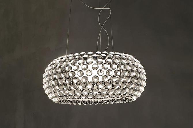 Caboche LED Suspension by Foscarini