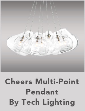 Cheers Multi-Point Pendant By Tech Lighting