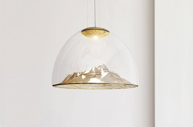 Mountain View LED Pendant by AXO Light