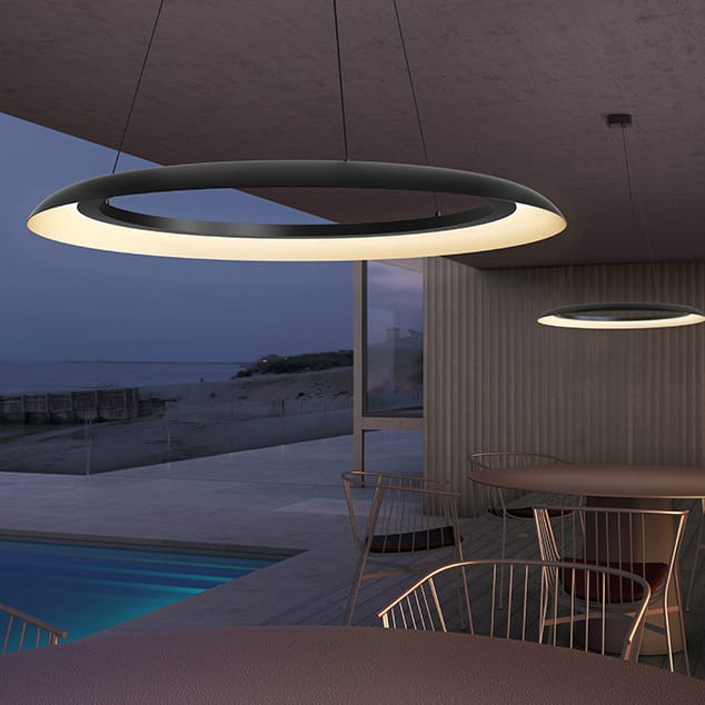 Torus by SONNEMAN Lighting.