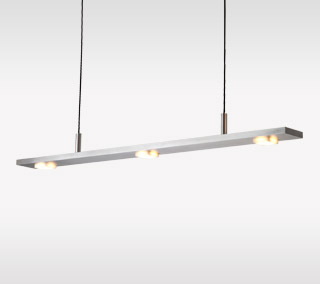 Brevis LED Linear Pendant By Cerno