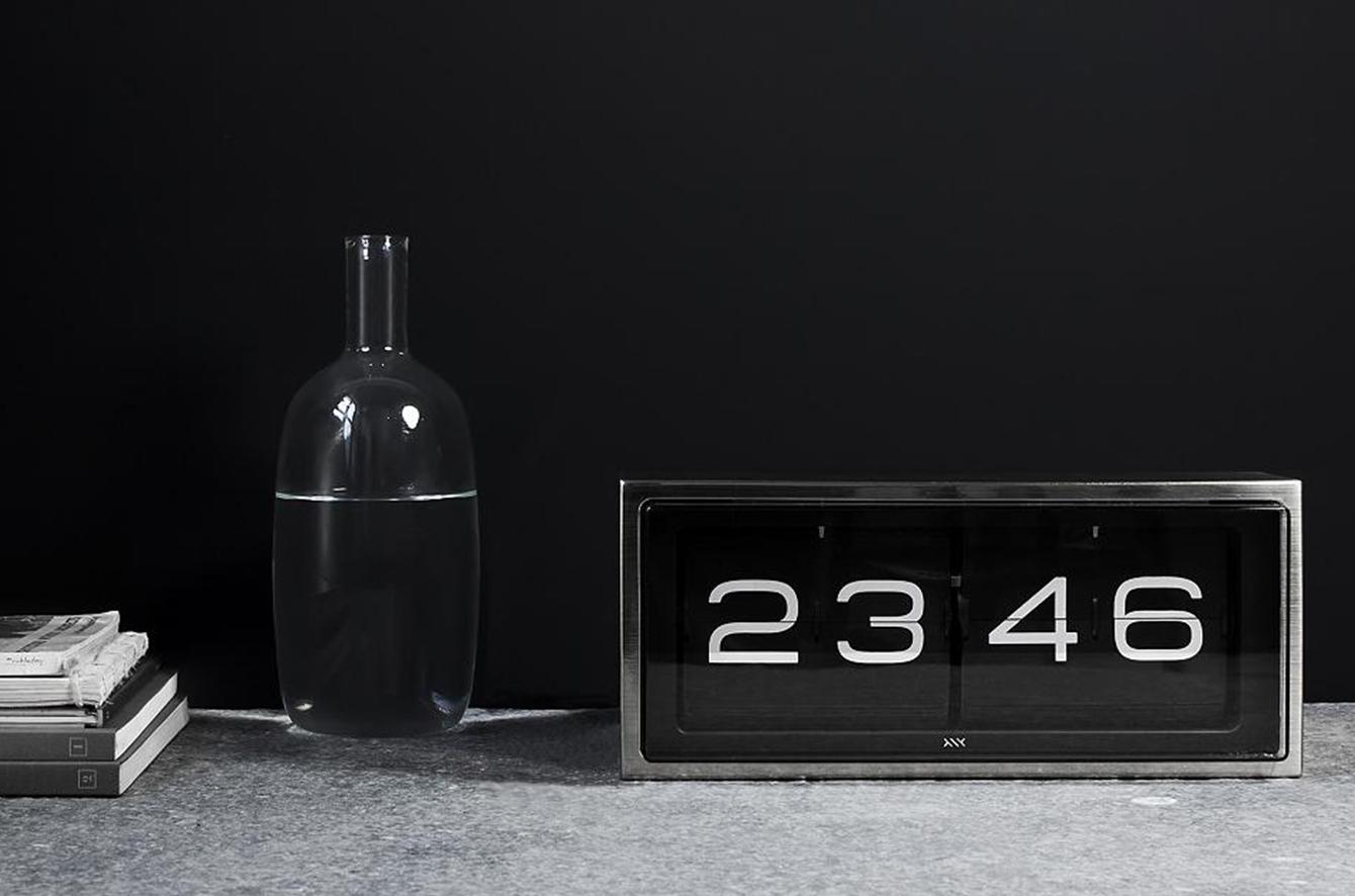 Brick 24-Hour Desk Clock by Erwin Termaat for LEFF Amsterdam