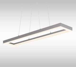 Corona LED Linear Suspension