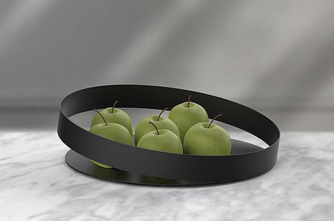 Orbis Fruit Tray by Beyond Object