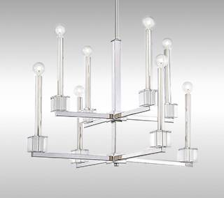 Chadbourne 2-Tier Chandelier by Metropolitan Lighting