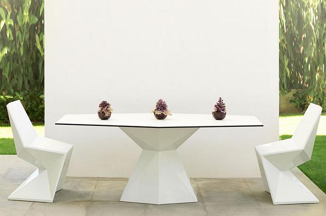 Vertex Dining Chair by Vondom