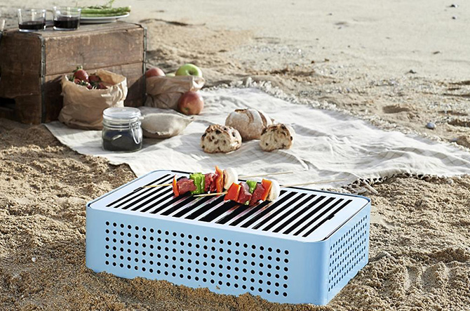 Mon Oncle Tabletop BBQ by RS Barcelona