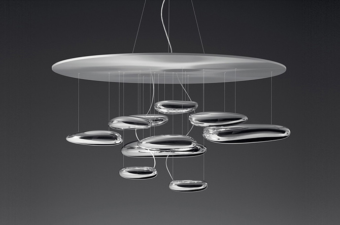 Mercury LED Suspension by Artemide.