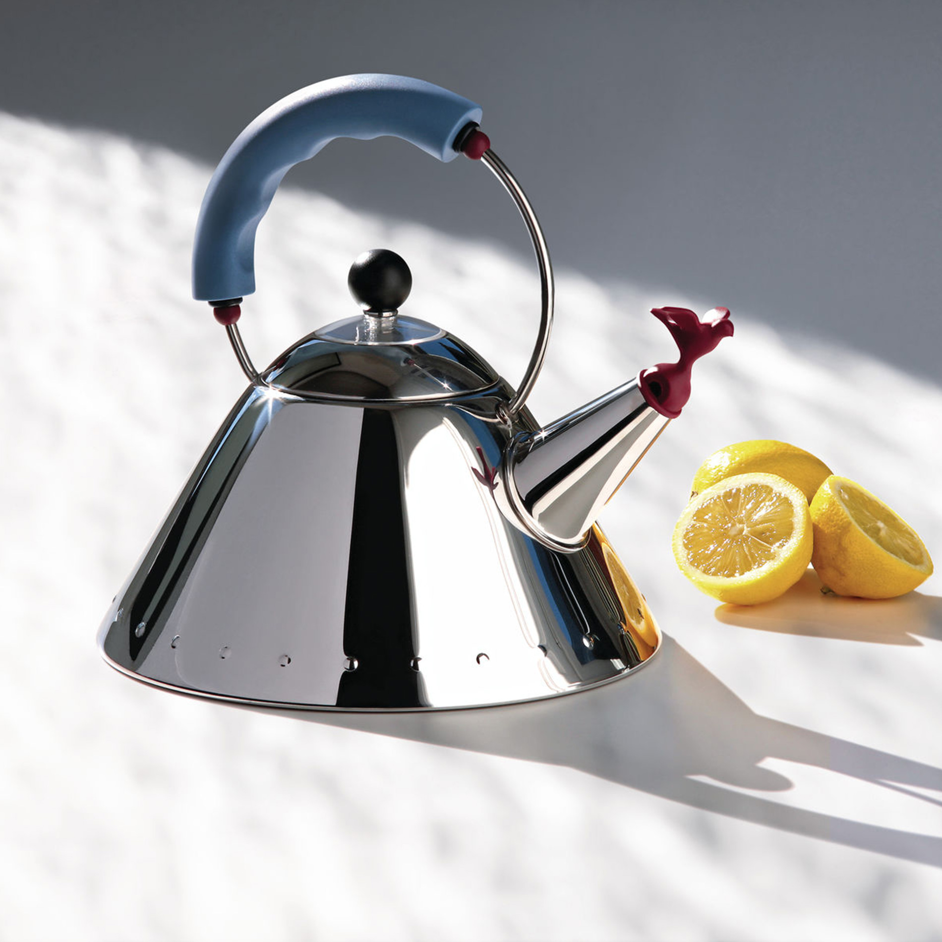 Michael Graves' Kettle with Bird Whistle by Alessi