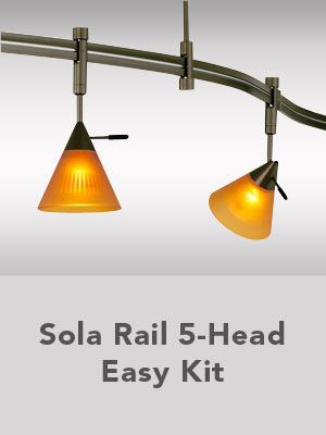 Solo Rail 5-Head Easy kit