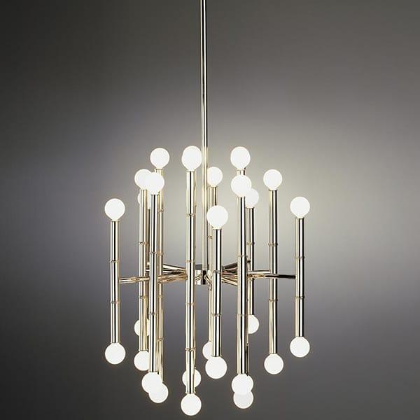 Meurice 30 Light Chandelier By Jonathan Adler for Robert Abbey