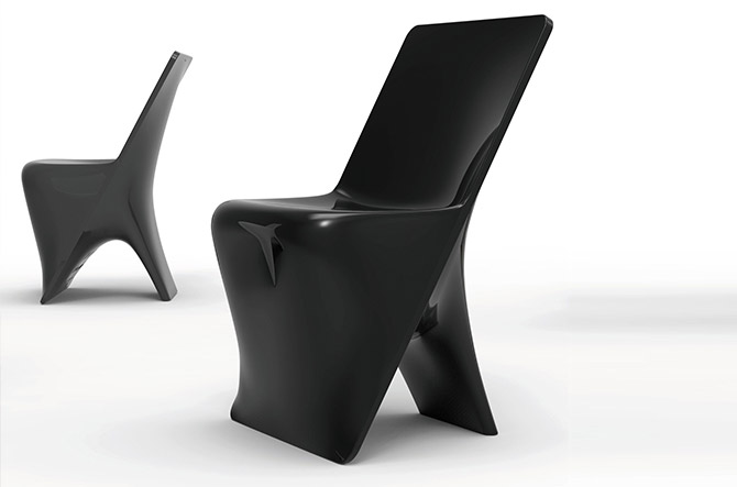 Sloo Dining Chair by Vondom