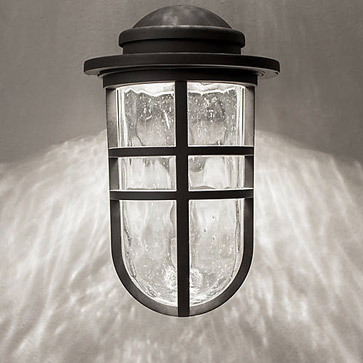 Arch dweLED Indoor/Outdoor Wall Sconce